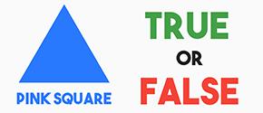 True or False - Colors Shape