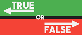 True or False - Directions