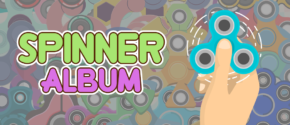 Spinner Album - Fidget Spinner Sticker